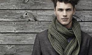 如何把男的围巾: 9 不同的方式