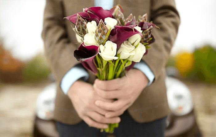 Give flowers correctly